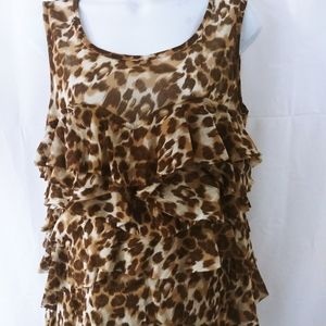 Cute animal print top